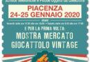 Piacenza 24 e 25 Gennaio – Pantheon 2020