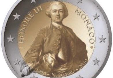 2 Euro commemorativi Monaco 2020 – 300° anniversario della nascita del principe Honoré III