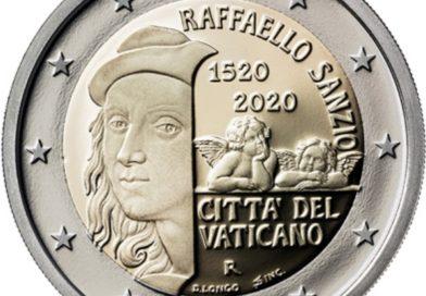 2 Euro Vaticano 2020 Raffaello