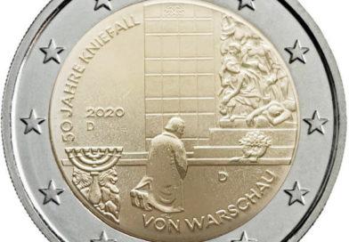 2 Euro Germania 2020 – 50° anniversario della genuflessione di Varsavia