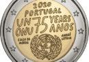 2 Euro Portogallo 2020 – 75 anni Nazioni Unite
